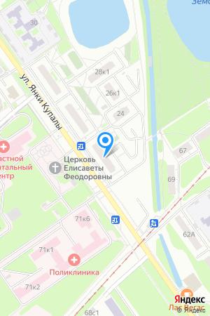 Дом 22 по ул. Янки Купалы, ЖК Водный мир на Яндекс.Картах