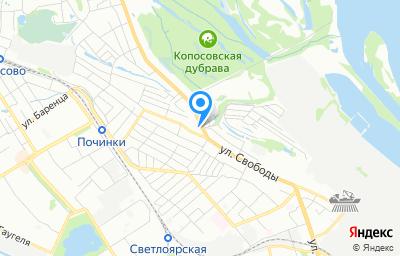 Местоположение на карте пункта техосмотра по адресу г Нижний Новгород, ул Хальзовская, д 2А