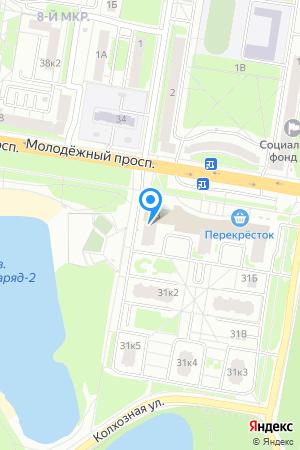 Дом 35 по просп. Молодёжный, ЖК Молодёжный на Яндекс.Картах