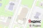 Схема проезда до компании Английский с удовольствием в Нижнем Новгороде