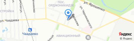 Аэста на карте Нижнего Новгорода