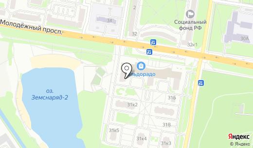 ТДВ Нижний Новгород. Схема проезда в Нижнем Новгороде