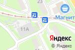 Схема проезда до компании АВС в Нижнем Новгороде