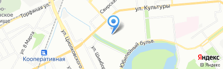 Ребенок.нн на карте Нижнего Новгорода