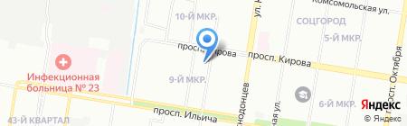 Стабфур Хром на карте Нижнего Новгорода