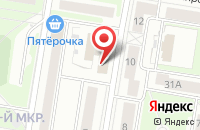 Схема проезда до компании Сити Мебель в Нижнем Новгороде