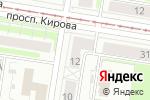 Схема проезда до компании Греция в Нижнем Новгороде