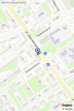 УНИВЕРМАГ на карте Нижнего Новгорода