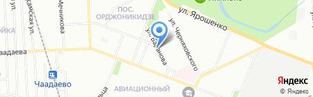 Магазин фруктов и овощей на карте Нижнего Новгорода