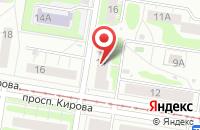 Схема проезда до компании Телекомпания «Тв-А» в Нижнем Новгороде