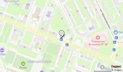 ФАРМАДАР. Схема проезда в Нижнем Новгороде