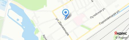 Детская музыкальная школа №13 на карте Нижнего Новгорода