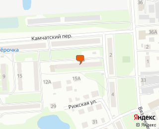 Расположение объекта недвижимости на карте