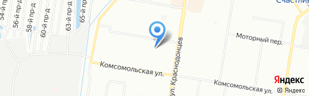 Детский сад №4 на карте Нижнего Новгорода