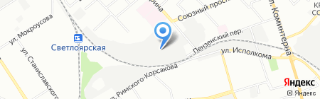 Das Auto Service на карте Нижнего Новгорода