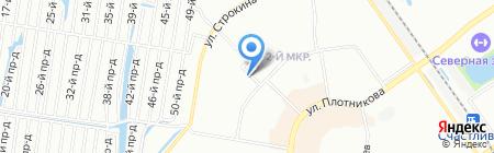 Атэк-НН на карте Нижнего Новгорода