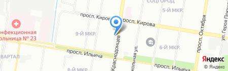 Киоск по продаже печатной продукции на карте Нижнего Новгорода