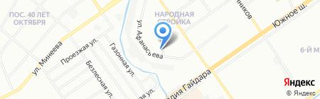 Союз на карте Нижнего Новгорода