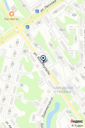АТС-92/2 на карте Нижнего Новгорода