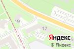 Схема проезда до компании Аврора в Нижнем Новгороде