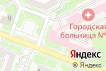 Схема проезда до компании Городская клиническая больница №28 в Нижнем Новгороде