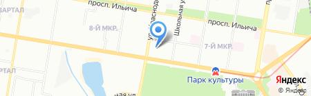 Средняя общеобразовательная школа №126 с углубленным изучением английского языка на карте Нижнего Новгорода