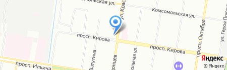Винотека на карте Нижнего Новгорода