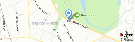 Марлен на карте Нижнего Новгорода