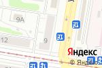 Схема проезда до компании Винотека в Нижнем Новгороде