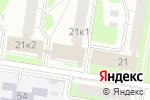 Схема проезда до компании Северный в Нижнем Новгороде