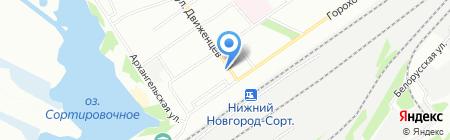 Ваша оптика на карте Нижнего Новгорода
