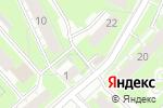 Схема проезда до компании Ключ здоровья в Нижнем Новгороде