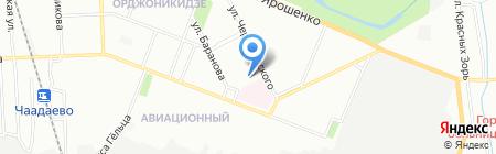 Детский сад №43 на карте Нижнего Новгорода