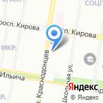 Торпедо на карте Нижнего Новгорода