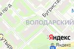 Схема проезда до компании Детская библиотека им. А.М. Матросова в Нижнем Новгороде