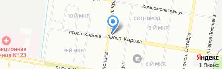 Детский трикотаж на карте Нижнего Новгорода