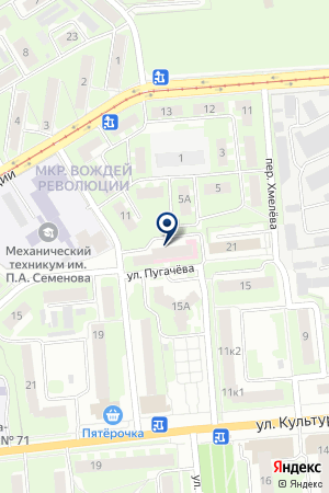 АПТЕКА ЗДРАВСТВУЙТЕ на карте Нижнего Новгорода