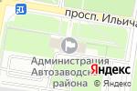 Схема проезда до компании Финансовое управление по Автозаводскому району в Нижнем Новгороде