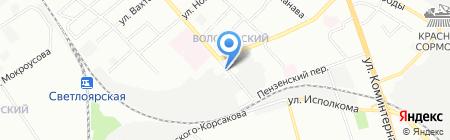 ГлавТрансАвто на карте Нижнего Новгорода