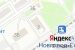 Схема проезда до компании Новый век в Нижнем Новгороде