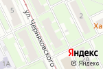 Схема проезда до компании Магазин детских товаров на ул. Черняховского в Нижнем Новгороде