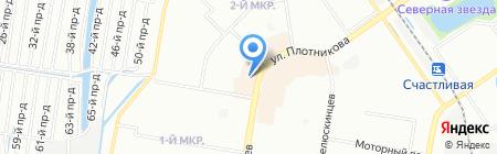 Лора на карте Нижнего Новгорода