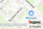 Схема проезда до компании Салон красоты Полины Глебановой в Нижнем Новгороде