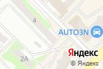 Схема проезда до компании Пинта в Нижнем Новгороде