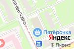 Схема проезда до компании Магазин обуви на ул. Черняховского в Нижнем Новгороде