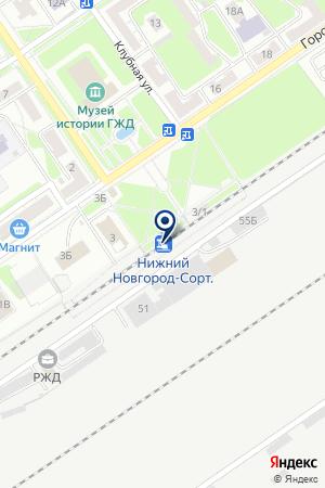 ГОСТИНИЦА ВОЛНА на карте Заволжья