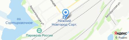 ТрансСистемаСтрой на карте Нижнего Новгорода