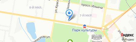 Новый квартал на карте Нижнего Новгорода