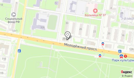 Новый квартал. Схема проезда в Нижнем Новгороде