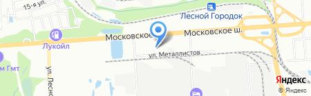ГОСНОМЕР на карте Нижнего Новгорода